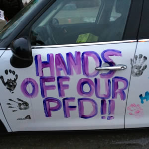 Hands off our pfd