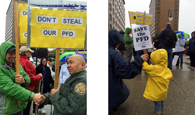 Don't Steal Our PDF Rally 2017 - 2